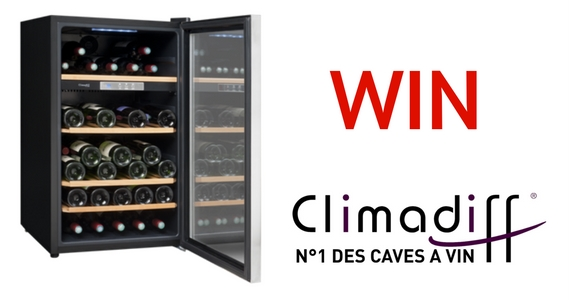 Win a Climadiff Freestanding Wine Cooler