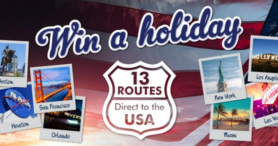 Win a Dream Holiday to the USA