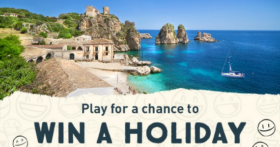 Win a Holiday to Sicily and Daily Prizes from Zizzi