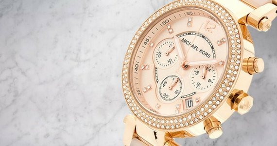 Win a Rose Gold Michael Kors Watch