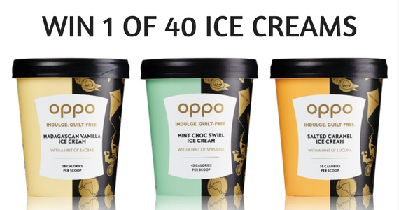 40 Oppo Ice Creams to Give Away