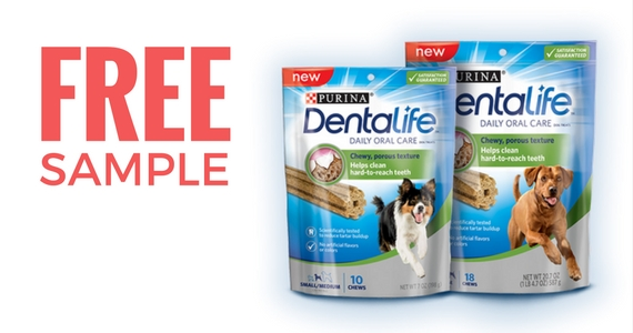 Free Sample of Purina DentaLife Dog Treats