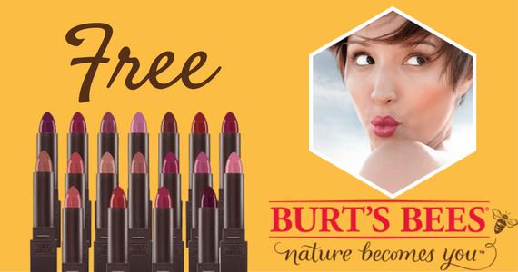Free Burt's Bees Lipstick