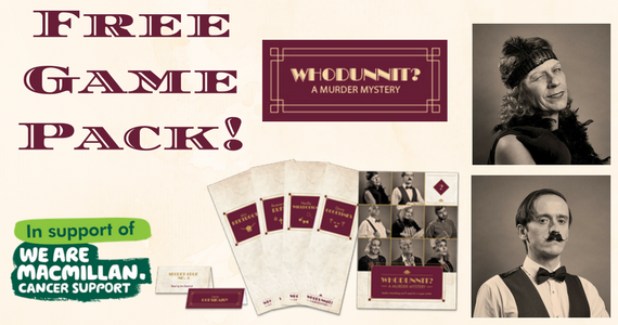 Free Murder Mystery Party Pack