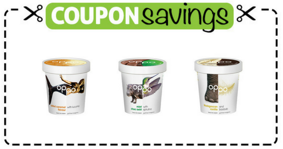 Save £1 off a tub of Oppo Ice Cream
