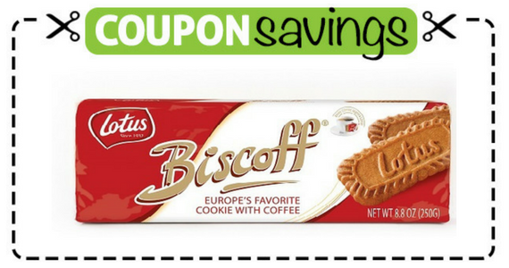 Save 25p off Lotus Biscoff Biscuits
