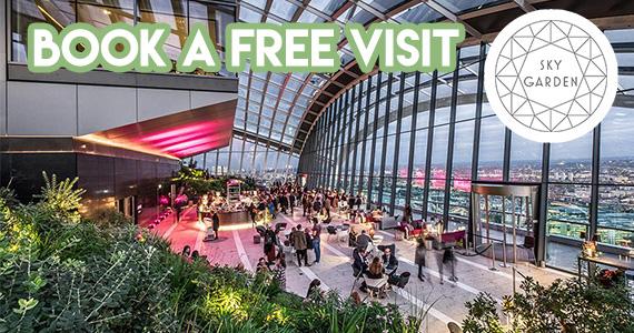 Free Sky Garden Tickets
