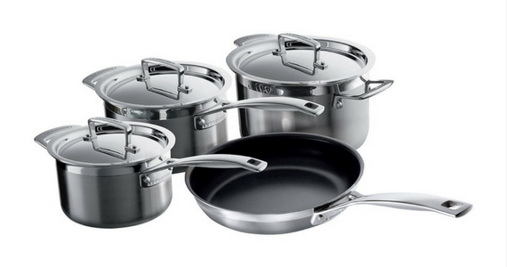 Win a 4-Piece Le Creuset Cookware Set