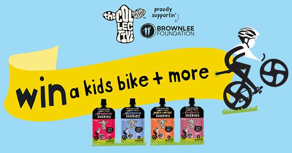 Win a Kids Bike + more