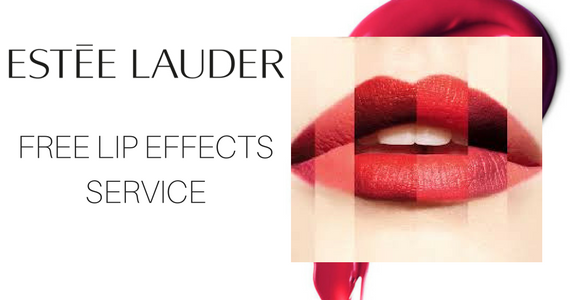 Free Estee Lauder Lip Effects Service