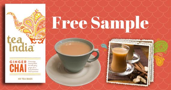 Free Tea India Chai Sample Pack
