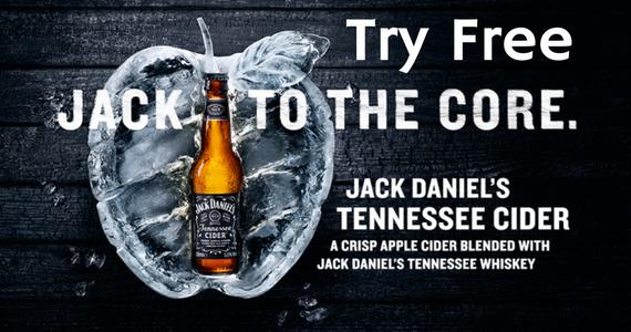 Free Jack Daniel's Cider