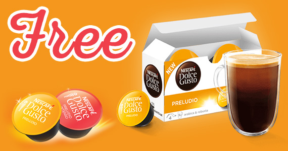 Free Nescafe Dolce Gusto Coffee