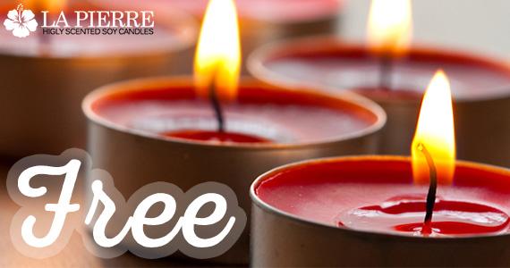 Free La Pierre Luxury Candles