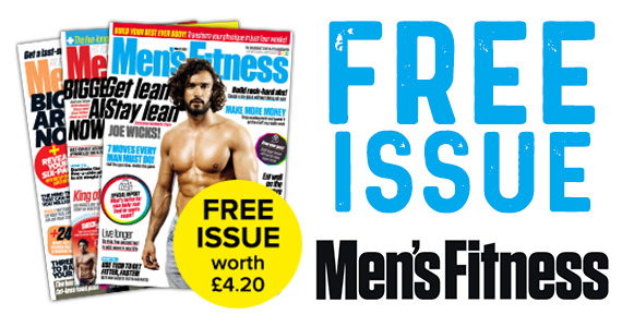 Free Copy of Men's Fitness Magazine