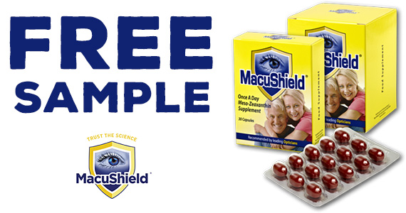 Free 6-Day Sample Pack Of MacuShield