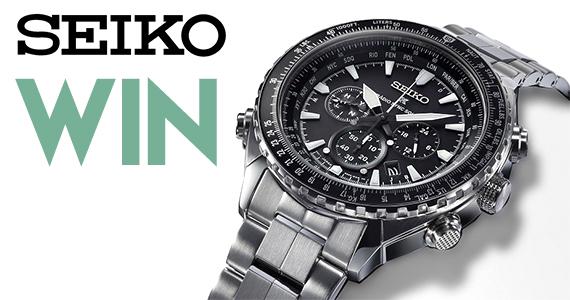 Win a Seiko Timepiece worth £549