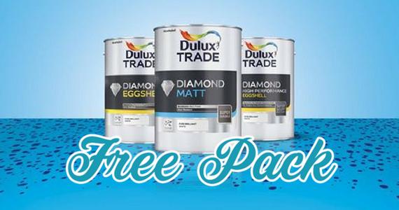 Free Dulux Paint & T-Shirt