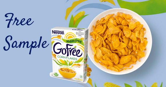 Free Pouch of Nestlé GoFree Corn Flakes