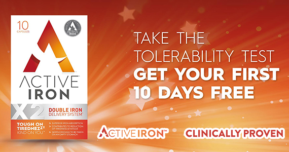 Free 10-Day Iron Supplement Sample Pack