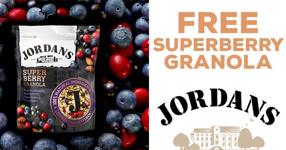 Free Sample of Jordans' Berry Granola Pack