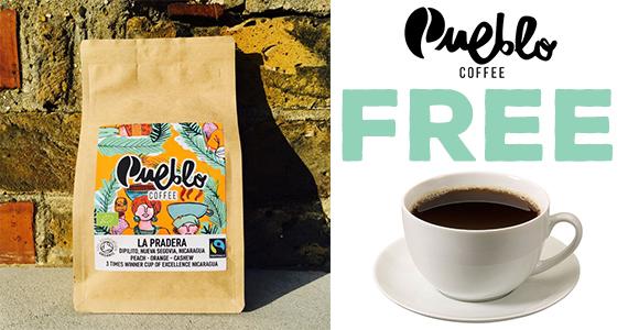 Free Pueblo Coffee Sample