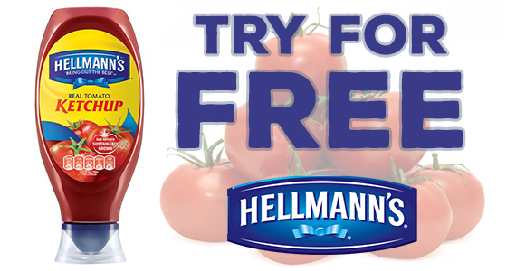 Free Sample of Hellmann's Tomato Ketchup