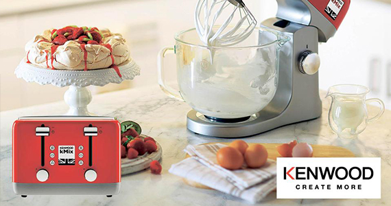 Win a Set of Kenwood Kitchen Small Appliances