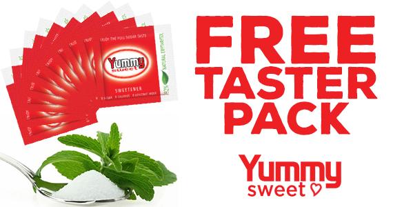 Free Sample of Yummy Sweetener
