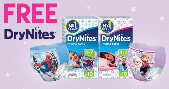 Free Sample of DryNites