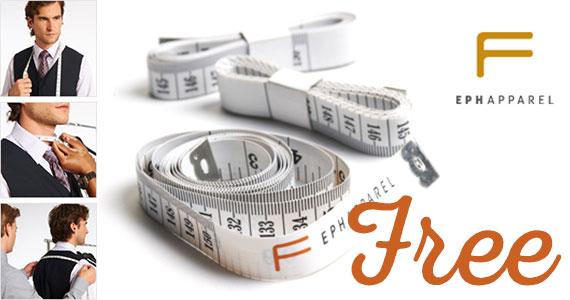 Free Eph Apparel Tape Measure