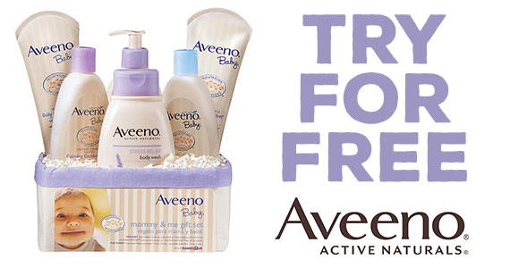 Free Sample of Aveeno Baby Products