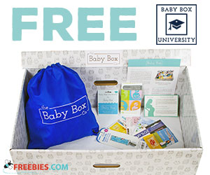Free Baby Box For Moms & Dads