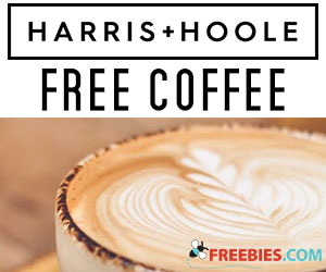Free Coffee With Harris + Hoole App