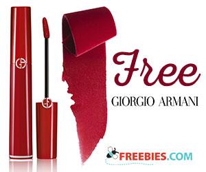 Free Armani Lip Gloss