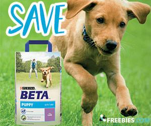 Save on Purina Beta Puppy