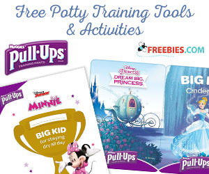 Free Potty Training Tools from Huggies