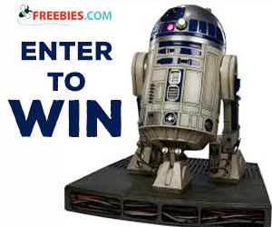 Win a Life Size R2 D2