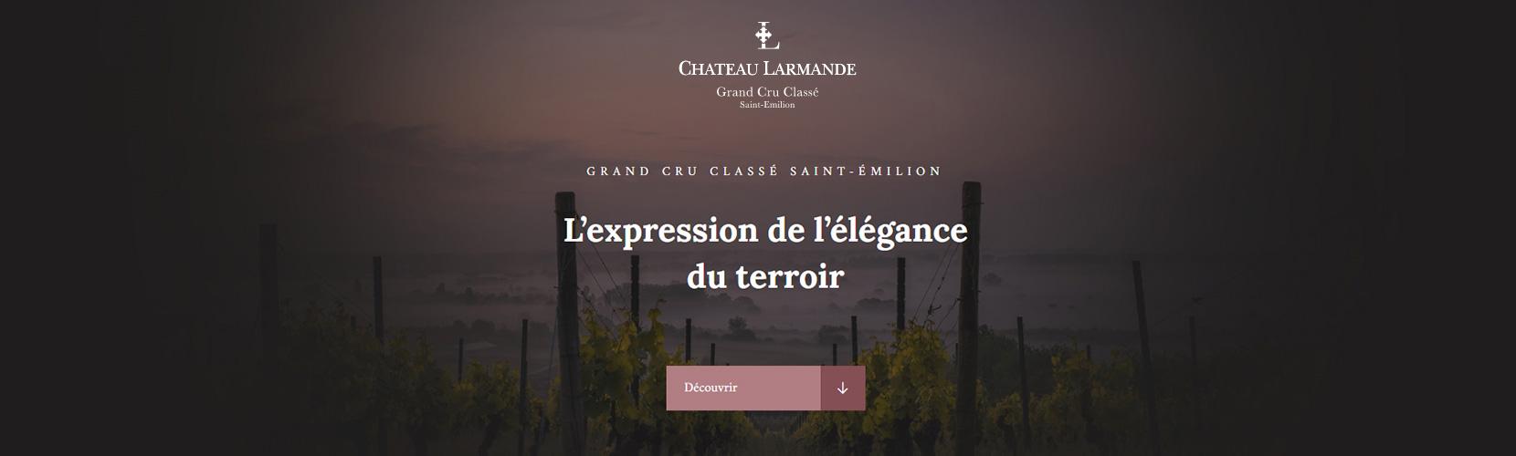 Bannière Château Larmande