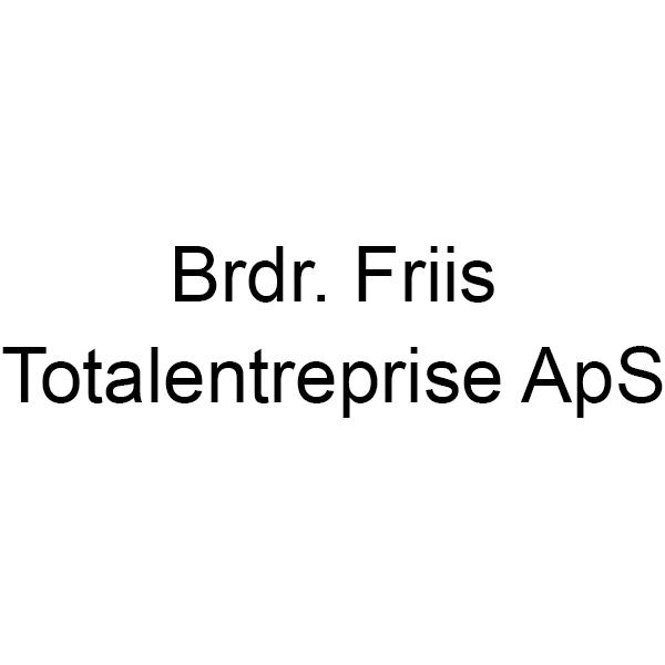 Brdr. Friis – Totalentreprise ApS