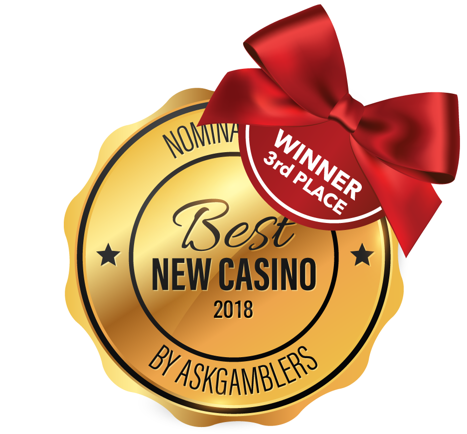 Nominated as Best New Casino 2017 by Askgamblers