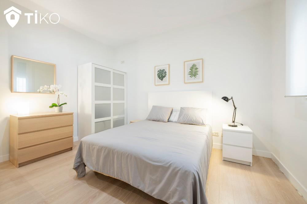 Dormitorio de una casa vendida rápido