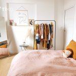 Dormitorio de una casa a la venta