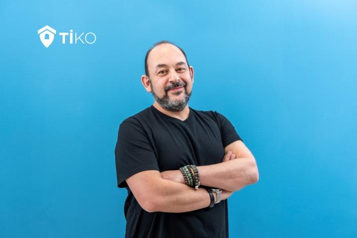 Sina Afra, CEO fundador de Tiko, asiste al btov Portfolio Day