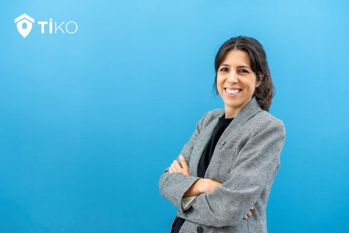 La CEO Iberia de Tiko, Ana Villanueva, como claro ejemplo de mujer emprendedora