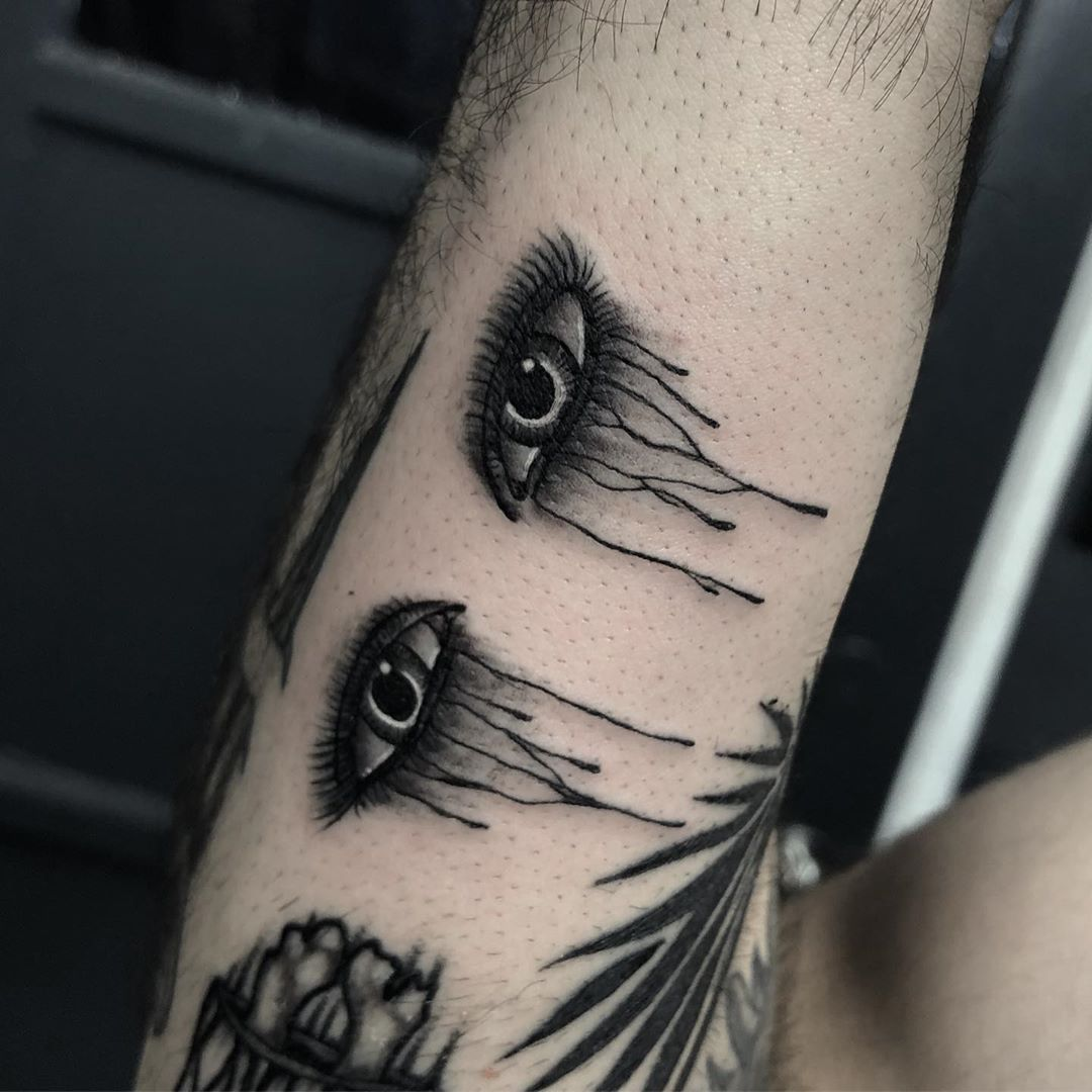 Gatsby eye tattoo from _miserymachine