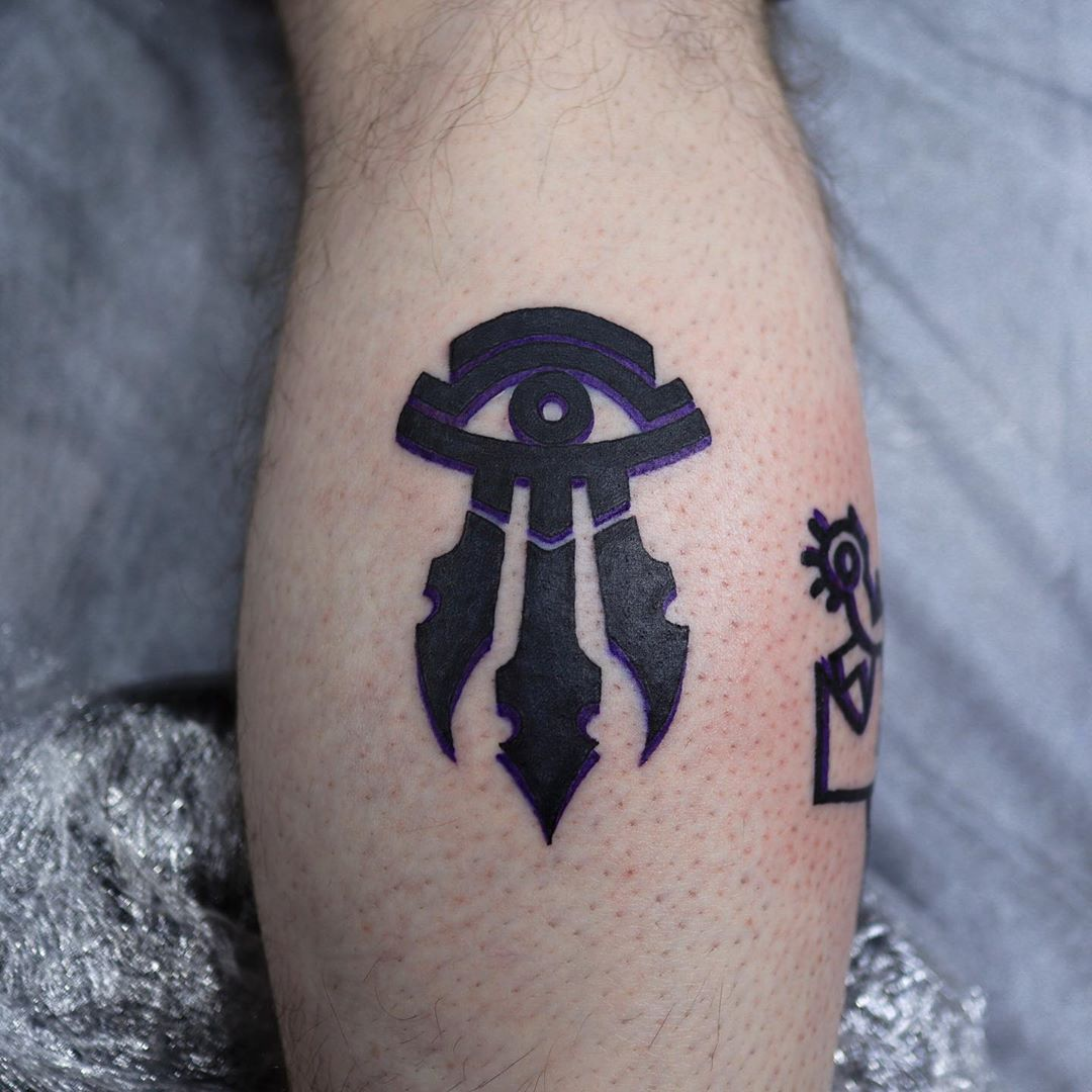 Kirin Tor eye tattoo fr0m puff_channel