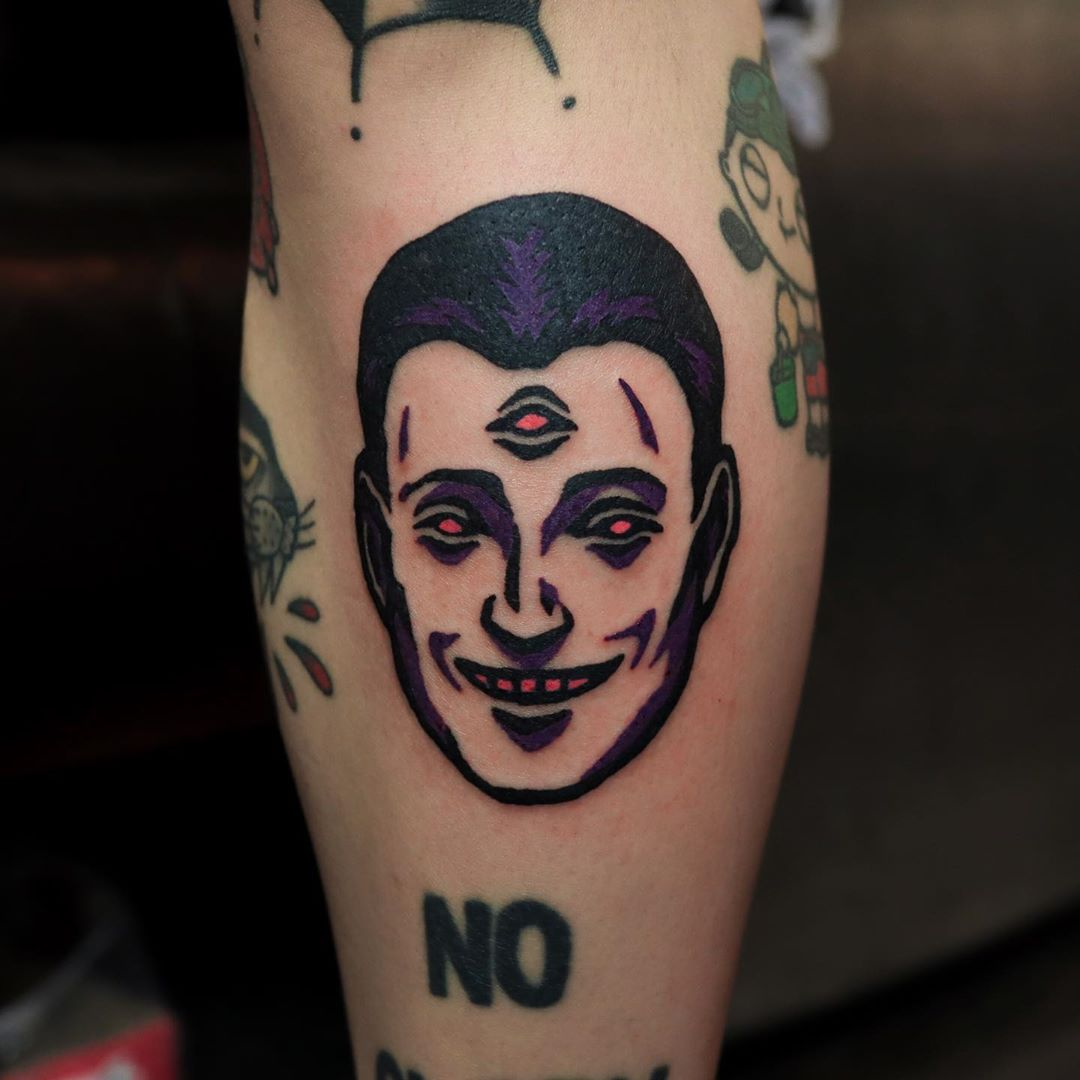 Third eye tattoo from puff_channel