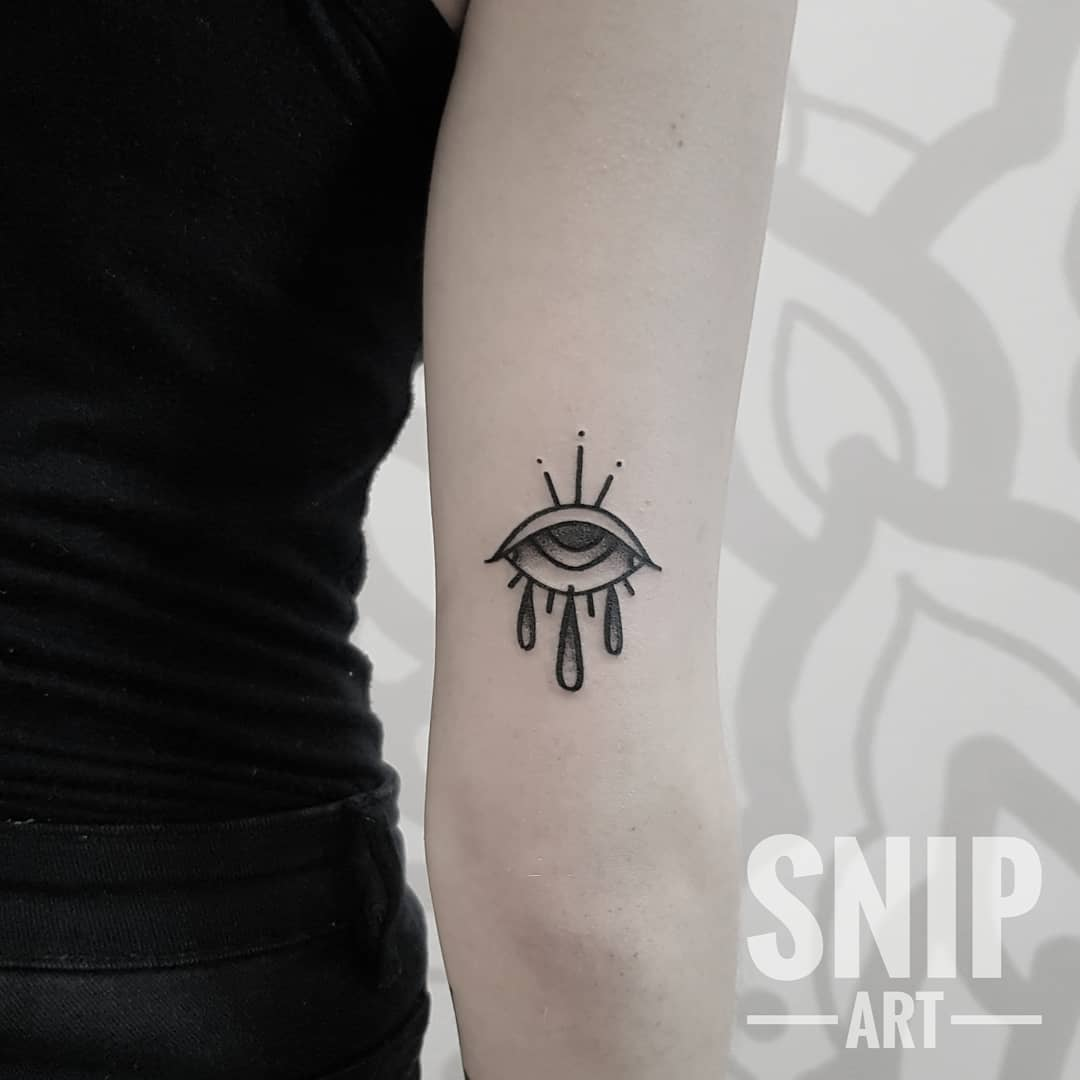 Eye tattoo from snip_art