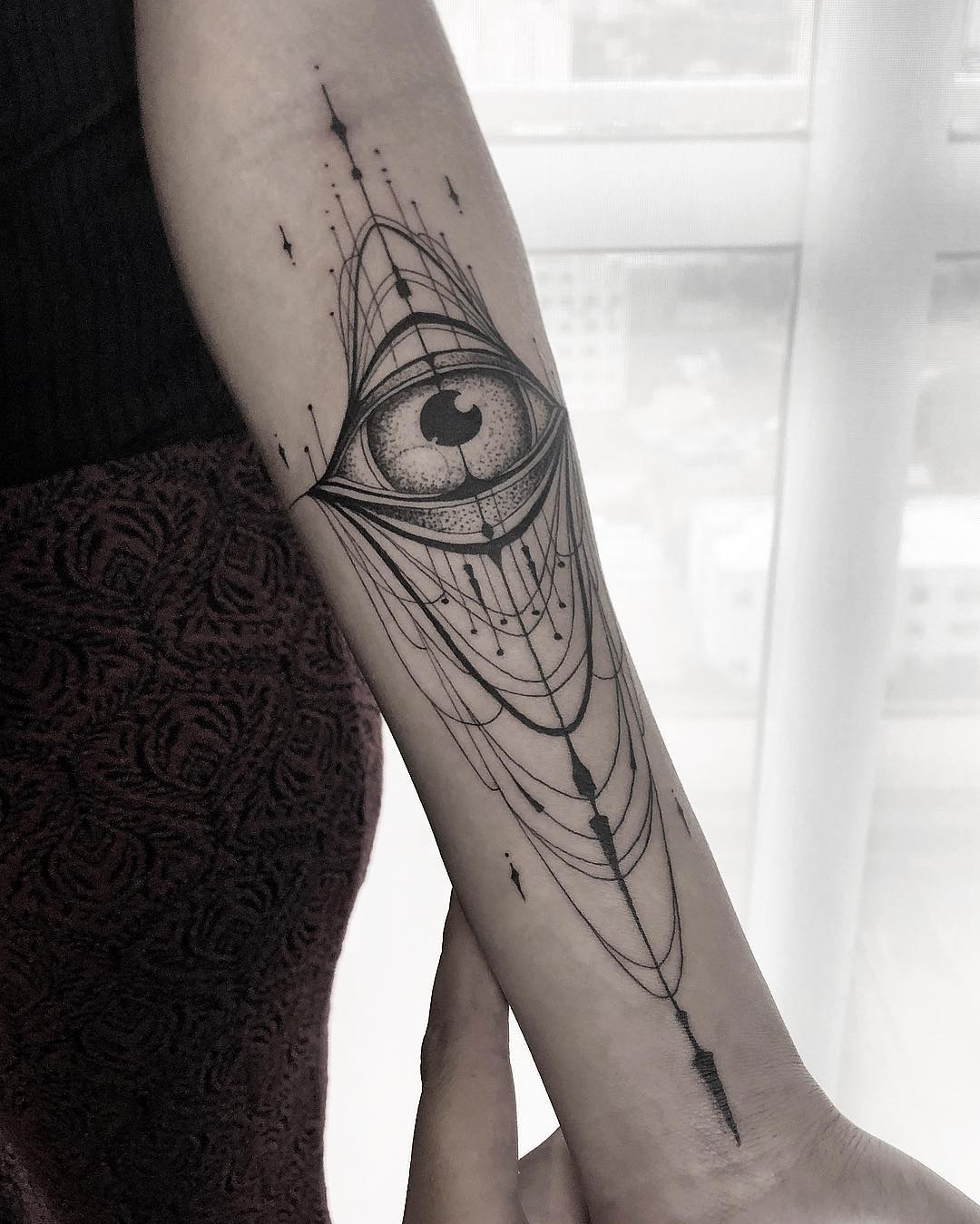 Eye tattoo from mcapocci